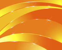 Orange abstract background. Stock Photos