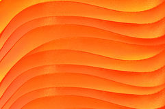 Orange abstract background. Orange and yellow waves Royalty Free Stock Images