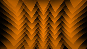 Orange abstract background on the black strip Stock Photography
