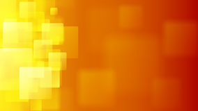 Orange abstract background of blurry squares Royalty Free Stock Images