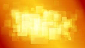 Orange abstract background of blurry squares Royalty Free Stock Image