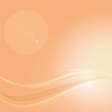 Orange abstract background. Orange color abstract background, soft light Stock Image