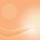 Orange abstract background. Orange color abstract background, soft light vector illustration