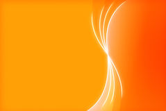 Orange abstract background with copy space Royalty Free Stock Photography