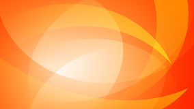 Orange abstract background. Abstract background of curved lines in orange colors Royalty Free Stock Photo