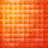 Orange abstract background of dotted. Can be used in cover design, book design, website background, CD cover, advertising Vector Illustration