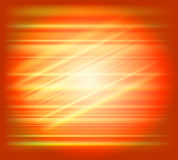 Orange abstract background light speed Royalty Free Stock Photos