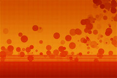 Orange abstract background. With lights royalty free illustration