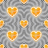 Orange on abstract background.Seamless pattern Royalty Free Stock Photos