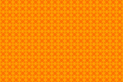 Orange abstract background and squares. Symmetrical orange squares, tile, abstract background Royalty Free Stock Photos