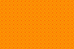 Orange abstract background and squares. Symmetrical orange squares, tile, abstract background Royalty Free Stock Image