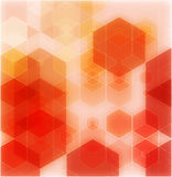 Orange abstract background - trendy business website template with copy Stock Image