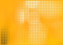 Orange abstract background, vector illustration Stock Photos