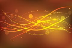 Orange abstract background. Vector illustration, contains transparencies, gradients and effects. EPS 10 Stock Image