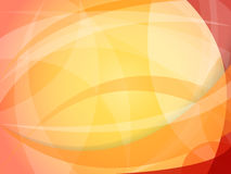 Orange abstract background. Vector abstract red-orange background of geometric shapes Stock Photography