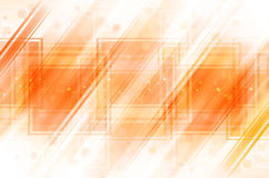 Orange abstract background. Orange and white abstract background royalty free illustration