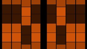 Orange abstract bakgraund stock video