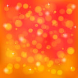 Orange abstract blurred background. Vector. Illustration. EPS 10 Stock Photos