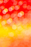 Orange abstract blurred bokeh background Stock Photos