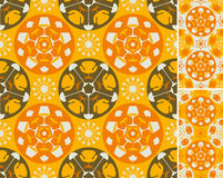 Orange abstract furniture background royalty free stock photos