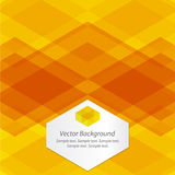 Orange Abstract Geometrical Background Royalty Free Stock Photography