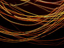 Orange abstract lights Royalty Free Stock Images