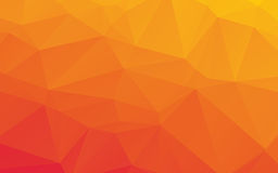 Orange Abstract Low Poly Vector Background Royalty Free Stock Photo
