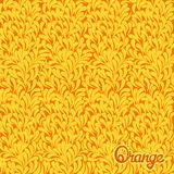 Orange abstract pattern Stock Photography