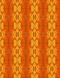 Orange Abstract Pattern used as Background Texture Stock Photography