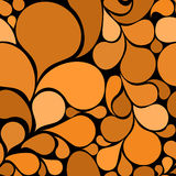 Orange abstract seamless pattern Royalty Free Stock Image