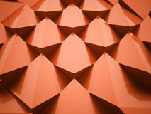 Orange abstract triangle background Royalty Free Stock Images