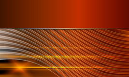 Orange abstract vector background Royalty Free Stock Photo
