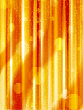 Orange abstract vertical lines and boke effect Royalty Free Stock Photos