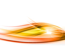 Orange abstract wave Royalty Free Stock Photography