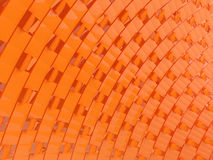 Orange abstraction Stock Photography