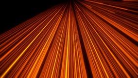 orange abstrakt bakgrund för Intro för rörelse för ögla för animering VJ för kub 3D vektor illustrationer
