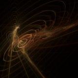 Orange abstrakter Hintergrund stockfotografie