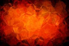 Orange abstrakter Hintergrund. Lizenzfreies Stockfoto