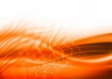 Orange abstrakter Hintergrund Lizenzfreie Stockfotos