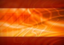 Orange abstrakter Hintergrund Lizenzfreies Stockbild