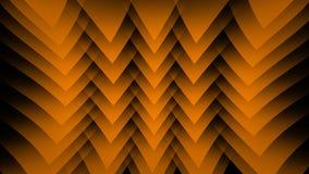 Orange abstrakter Hintergrund auf dem schwarzen Streifen Stockfotografie
