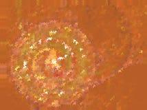 Orange abstrakter Hintergrund Dieses ist Datei des Formats EPS8 Beschmutzter Halbtoneffekt Lizenzfreies Stockfoto