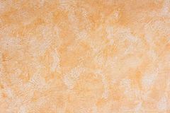 Orange aged concrete wall Stock Image