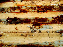 Orange aged wall Royalty Free Stock Image