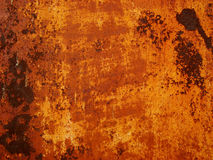 Orange aged wall Stock Photos