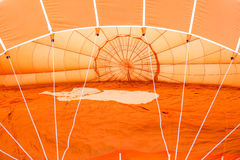 Orange air balloon detail Royalty Free Stock Photo