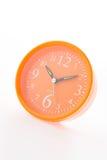 Orange alarm isolated on white background Stock Image