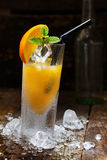Orange Alcohol Drink Stock Photography