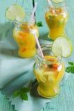 Orange alkoholfreies Getränk Lizenzfreies Stockfoto