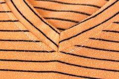 Orange alternating black T-Shirt. Stock Images